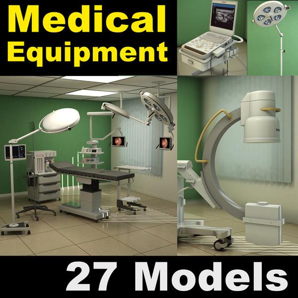 3d medical equipment 1 model