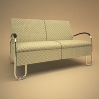 3ds max 444 sofa gispen