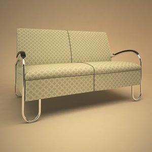 3ds max 444 sofa gispen