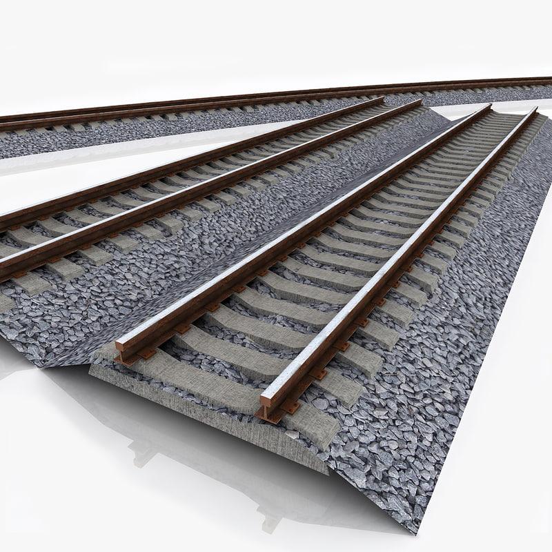 3ds rail track