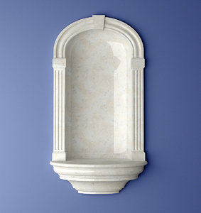 3d recessed madison niche model