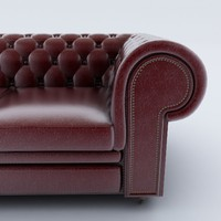 3ds chesterfield sofa