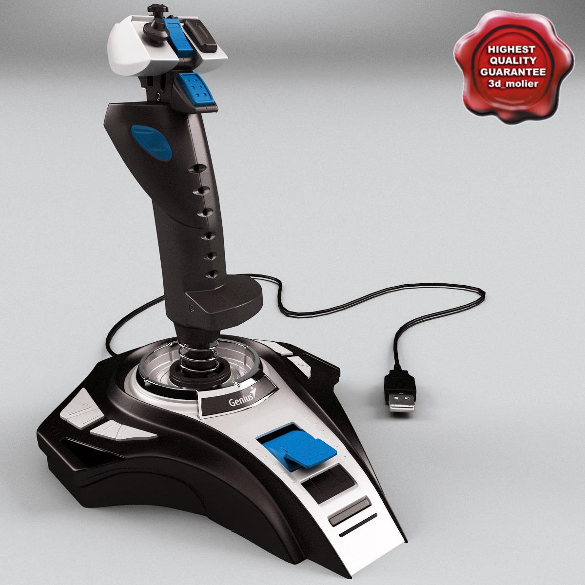 genius joystick metal strike max
