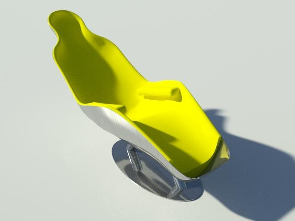3ds felt chair