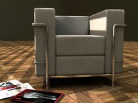 le couch 3d model