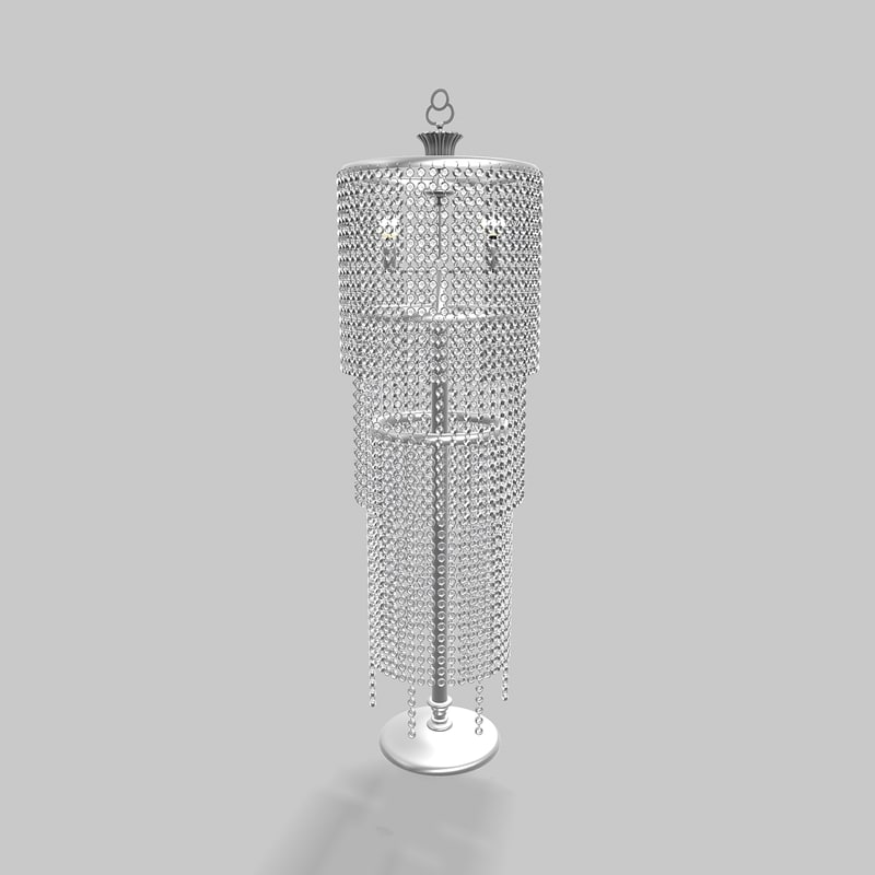 3ds max paralume marina floar lamp