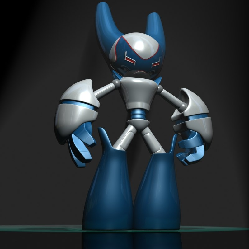 max robotboy cartoon character