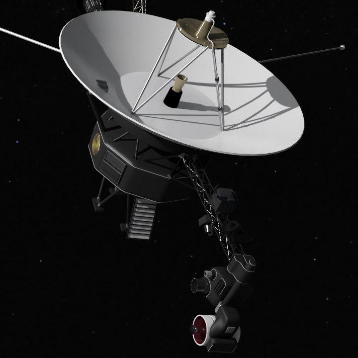 nasa satellite astronomy 3d obj