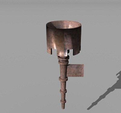 medieval chandelier 3ds