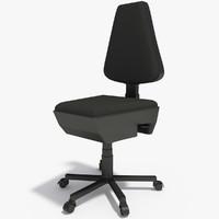 office desk chair 3d x