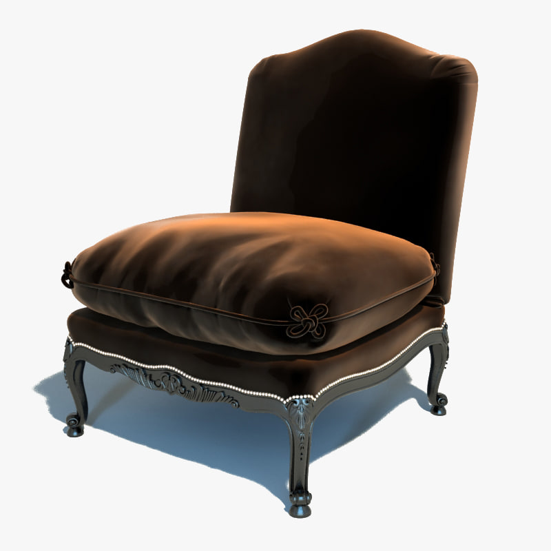 3d ralph lauren - chair model