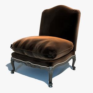 3d ralph lauren - chair model