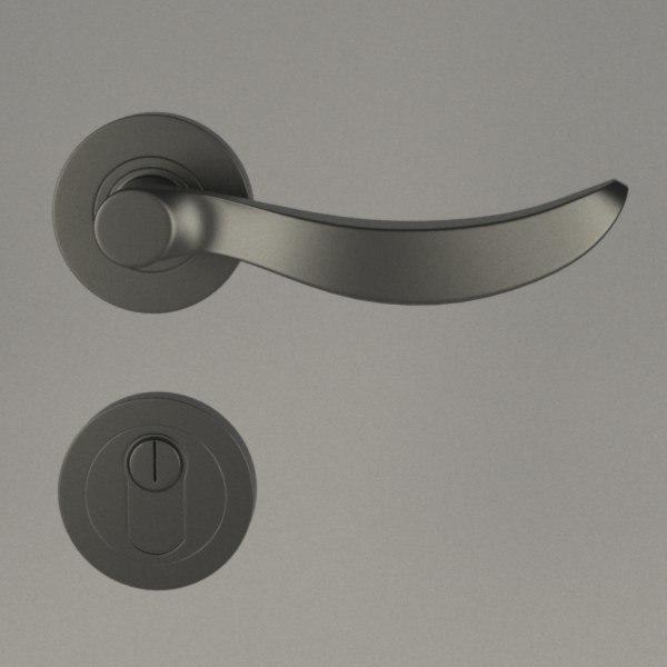 3d door handle