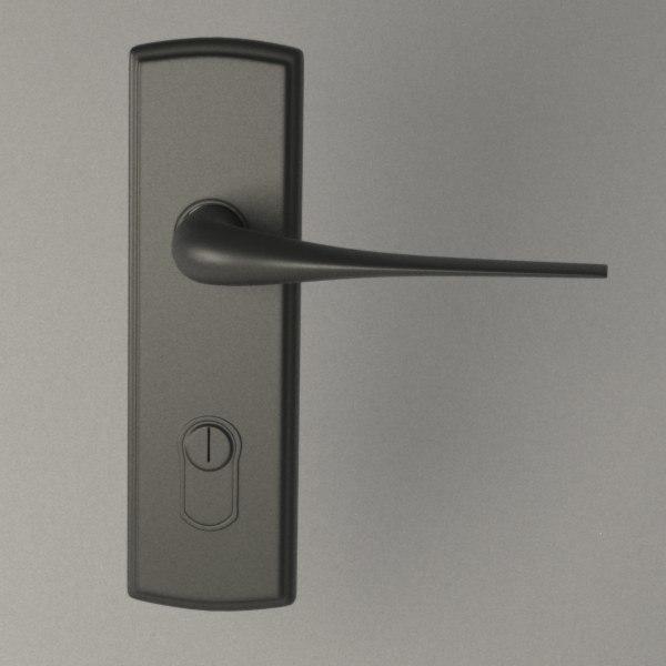 door handle fbx