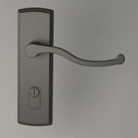 door handle obj