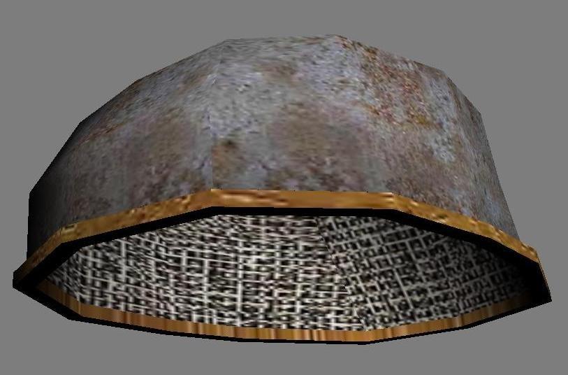 helmet medieval 3d model