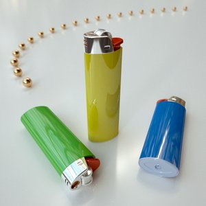 gas lighter obj