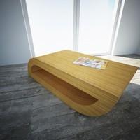 3d model table roche bobois