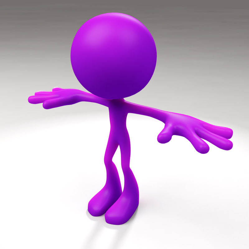 3d model figure jelly