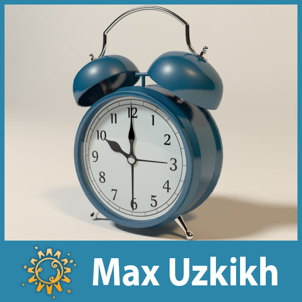 old alarm clock max
