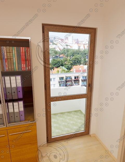 3d balcony door 04