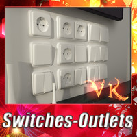 switches and outlets collection