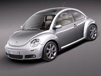 3d 3ds volkswagen beetle 2005 2011
