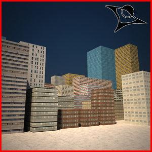 free max model buildings polys