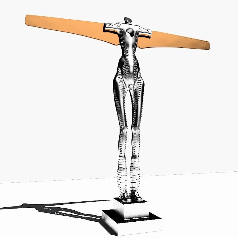 max sculpture angel