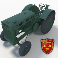 3ds max tractor agrimotor traction-engine