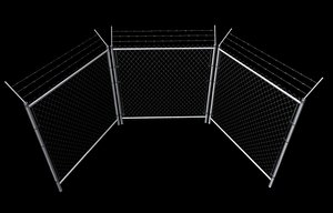 3ds wired fence set