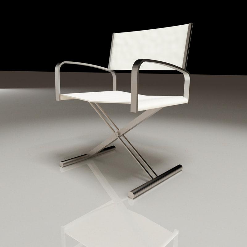 fellini chair 3d max