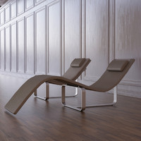 3d model flipt lounge chair