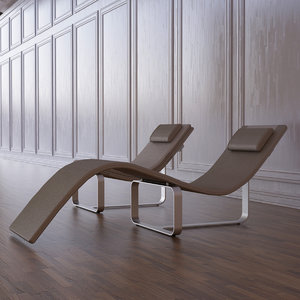 3d model flipt lounge chair