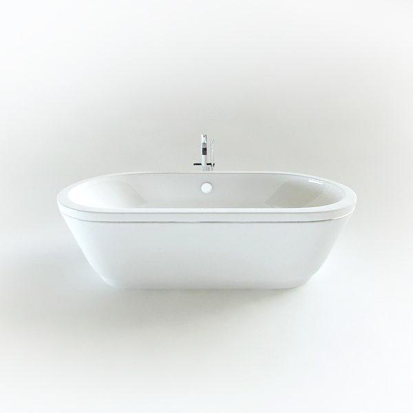 3d model sanitana bathtub