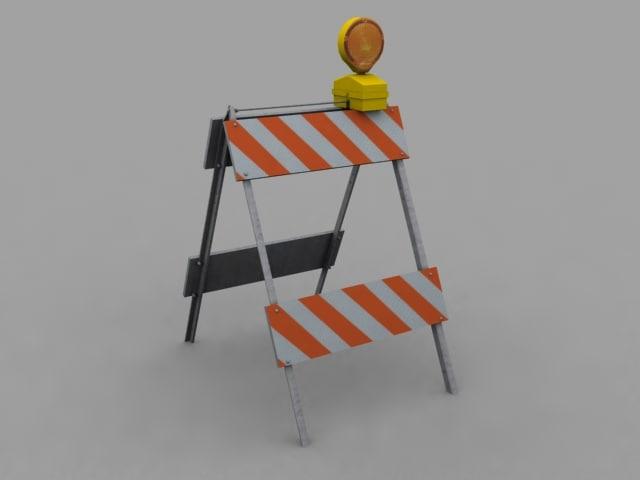 road pylon 3d model