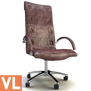 chair smania city 3d model