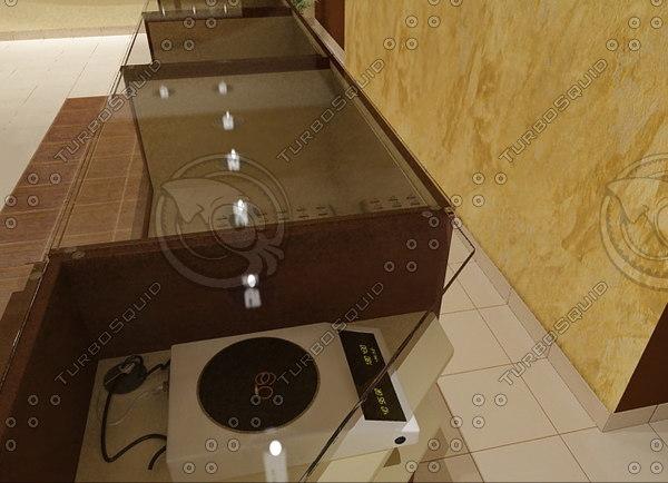 3d model electronic balance 01