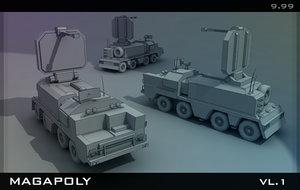 3d set collection model