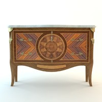 3ds max antique buffet cabinet