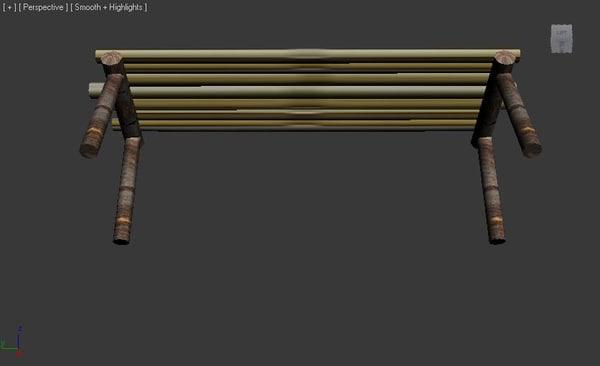 3dsmax bamboo island survival