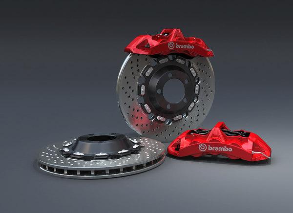 brembo racing 3d model