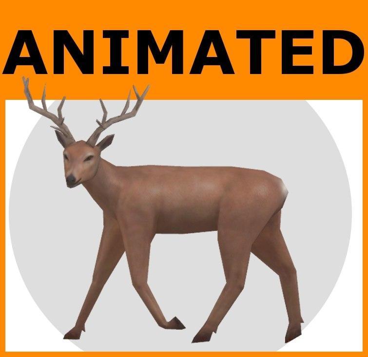 deer ready 3d model