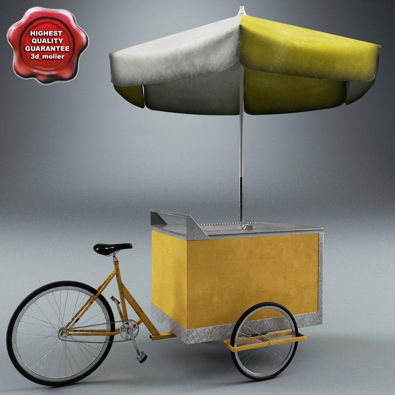 3d ice cream cart v2