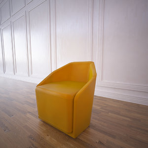 misura chair design 3d 3ds