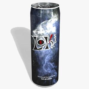 energy drink brand loki 3ds