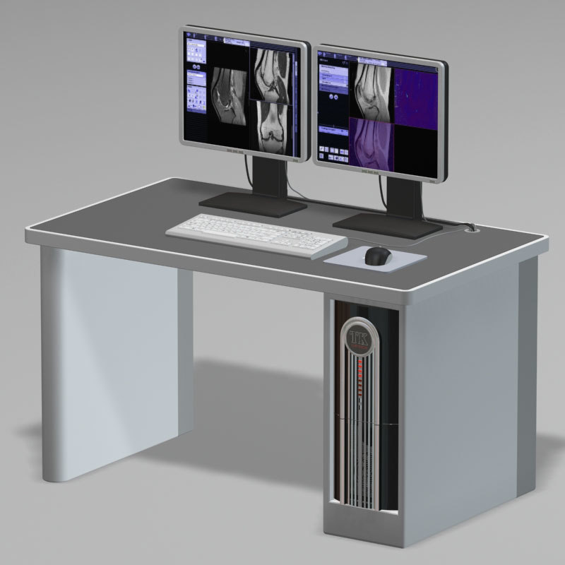 mri workstation computer pc 3d model