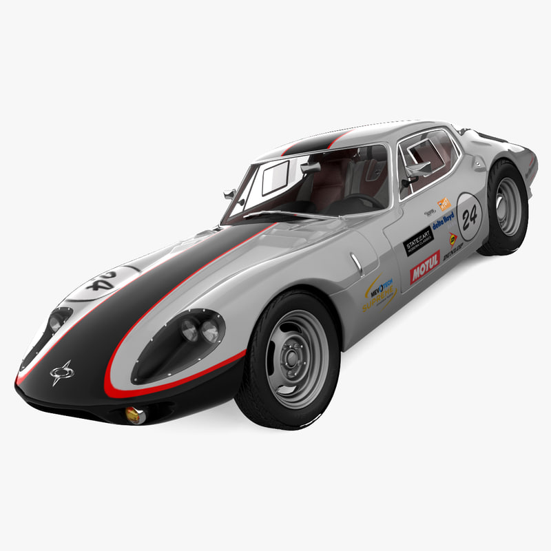 marcos 1800 gt tunned 3d 3ds