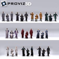 30 people: arabic people 3d max