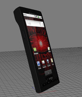 3d motorola droid model